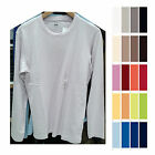 UNIQLO Men SUPIMA COTTON CREW NECK LONG SLEEVE T SHIRT 100%Cotton Colors 138633