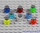 LEGO - Jars Assorted Translucent Colors - Drink Food Kitchen Minifigure Potion