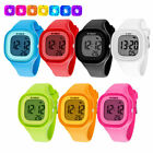 Kids Sport LED Waterproof Rubber Digital Boy's Girl's Stopwatch Date Wrist WatchWristwatches - 31387