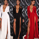 Woman Sexy Evening Party Ball Gown Formal Bridesmaid Cocktail Long Maxi Dress