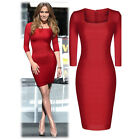 Sexy Women Summer Formal Bodycon Bandage Party Evening Cocktail Short Mini Dress