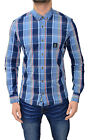 Mens Designer Duck & Cover Long Sleeve Checked Fitted Shirt Casual Top Jobson