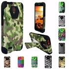 For Alcatel One Touch Conquest New Design Hybrid TSTAND Cover Case