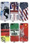 Graphics CL-AA2 Plastic Back Cover Case For iPhone 5 / 5S