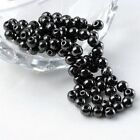 Magnetic Hematite Spacer Finding Ball Bead For Necklace Bracelet DIY 4/6/8/10mm