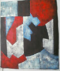 ABSTRACT ART 30 IMAGES 2 CHOOSE FROM 8 OIL PAINTING ROLLED OR STRETCHED 20X24""