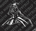 Star Wars Darth Vader car truck vinyl decal sticker cool jedi luke empire yoda $5.99 USD on eBay