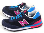 New Balance WL515GRC B Navy & Blue & Purple & Pink Lifestyle Retro Classic NB
