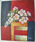 """FLOWER OIL PAINTING ART ROLLED OR STRETCHED 20X24"""" 30 DIFFERENT REF8"""