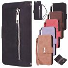 Premium PU Leather Wallet Wristlet +Luxury Detachable Magnetic TPU Shell Case