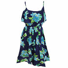 (Free PnP) Womens/Ladies Strappy Floral Print Patterned Summer/Beach Maxi Dress