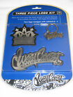 NEW 3 Piece Logo Kit WEST COAST CUSTOMS 1 Keychain/ 2 Logo Badges Cars & Trucks