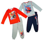 Boys Marvel Spiderman Get Me Long Sleeve T-Shirt & Jogging Bottoms 3 to 8 Years