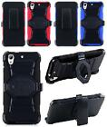 NP CITY W-style Quality Phone Case + Holster Belt Clip For HTC Desire 626 / 626S