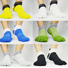 Homme chaussettes Sport Fitness Pilates socks Cinq Toe Non-Slip Massage colours