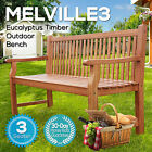 NEW FSC EUCALYPTUS TIMBER OUTDOOR WOODEN BENCH SEAT GARDEN FURNITURE