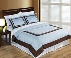 Wrinkle Free Egyptian cotton Hotel Duvet cover set - 6 Colors!