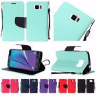 For Samsung Galaxy Note 5 Premium Leather Flip Wallet Cover Case
