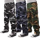Big Dawg Special Mens Boys Casual Military Army Camouflage Cargo Combat Trousers