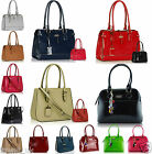 New Women's Designer Bags Patent Fashion Tote Shoulder Ladies Leather Handbags
