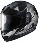 HJC 2015 YOUTH Striker CL-Y MC5 Snow Helmet Black/Silver SM-LG