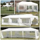 Awnings Canopies - 10 20 30 White Outdoor Wedding Party Tent Patio Gazebo Canopy With Side Wall