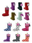 Ladies CoZee Sherpa Slipper Boots With Bow in different colours size 4-6.