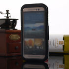 NEW Premium Waterproof Shock/ Dirt Proof Durable Case Cover For HTC One M7 M8 M9