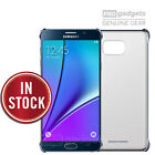 Genuine Samsung Original SM-N920 Galaxy Note 5 CLEAR BACK HARD SLIM Case