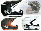 6D ATR-1 Stealth Off Road Motorcycle Helmet   Closeout