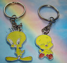 TWEETY PIE KEYRING CHARM KEYCHAIN IN GIFT BAG LOONEY TUNES YELLOW CANARY BIRD