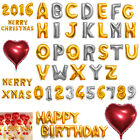 "16"" 42"" Foil Letter Number Heart Huge Balloons Birthday Wedding Party Decoration"