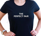 THE PERFECT PAIR DRUMMERS GIRLFRIEND CARD PLAYERS T SHIRT GIFT XMAS BIRTHDAY FUN