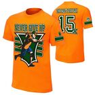 John Cena Orange 15x Never Give Up Mens T-shirt