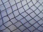 Knitted Anti Bird Netting BLACK 10m width Pond Netting Fruit Protection - 50GSM