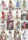 Valentines Womens silk Night Wear Pajamas lingerie underwear kimono Mini Dress