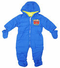 Boys Disney Cars Lightning McQueen Snowsuit with Mittens & Bootees 6 - 24 Months