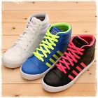 BN Women Hi Top Lace Up Fashion Trainer Sneakers Casual Sports Walking Shoes