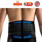 NEOPRENE LOWER BACK LUMBAR SUPPORT BELT BRACE WAIST POSTURE PAIN RELIEF PULL