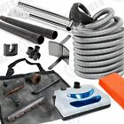 30' Electric Central Vacuum Kit Powerhead, Electric Hose & Tools for Vacuflo