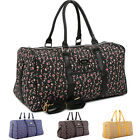 Womens Large Shoulder Bag Travel Overnight Carry-On Luggage Gym Bag Duffle Bag