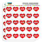 "1"" Scrapbooking Crafting Stickers I Love Heart Names Male A Aaro"