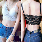 CHIC Women Sexy Lace Floral Padded Bra Bustier Crop-Tops Cami Tank Top Fashion