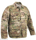 multicam camo bdu shirt military style camouflage coat rothco 2955