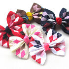 New 5/20PCS Grosgrain Ribbon Flowers Bows Appliques Wedding Decor Lots Mix A459