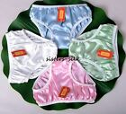 Women's Girl's 100% Pure Silk Charmeuse Briefs Knickers Panties Size X-3XL SU141