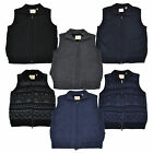 Weatherproof Garment Co Sweater Vest Mens Vintage Zip Up Sleeveless Warm Ma0002p