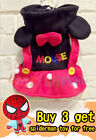 High Quality Pet Dog Cat Puppy Kitten Clothes Disney Minnie Mouse
