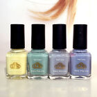 LCN  8ml Nail Polish Lacquer Pastel Colours 4 for £14.99! FREE P&P!