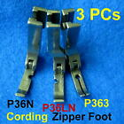 P36n P36ln P363 Cording Zipper Foot Left Right Narrow Industrial Sewing Machine